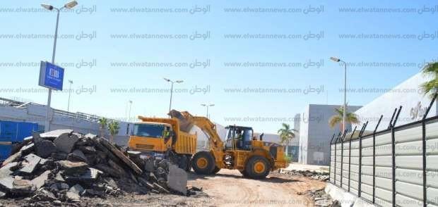 450 مليون جنيه لزيادة صالات انتظار الركاب بمطار شرم الشيخ