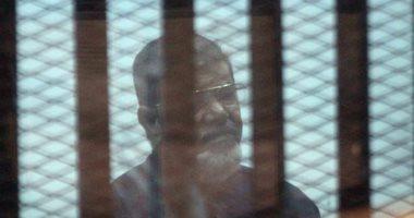 """تأجيل إعادة محاكمة مرسى و23 آخرين فى """"التخابر مع حماس"""" لـ 13 ديسمبر"""