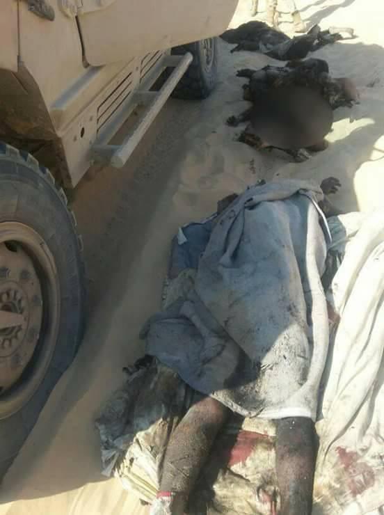 دفعة جديدة من صور الدواعش بعد مقتلهم من قبل القوات المسلحة