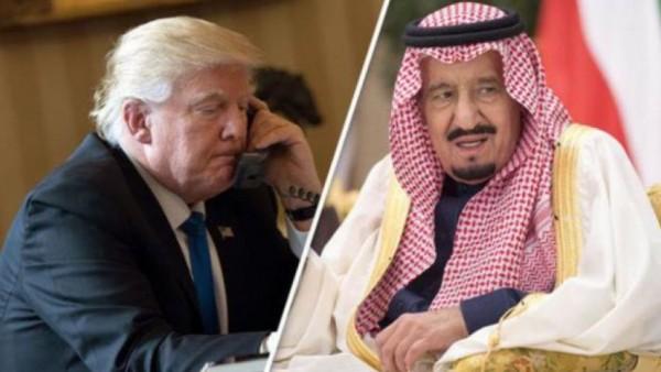 الملك سلمان: السعودية تؤيد الاستراتيجية الأمريكية الجديدة تجاه إيران