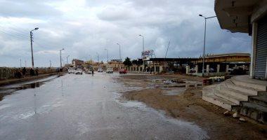 أمطار خفيفة على سواحل شمال سيناء واستمرار عمل ميناء العريش