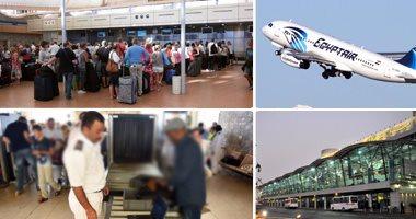 وفد أمنى أمريكى يتابع إجراءات تأمين مطار القاهرة الدولى الشهر المقبل