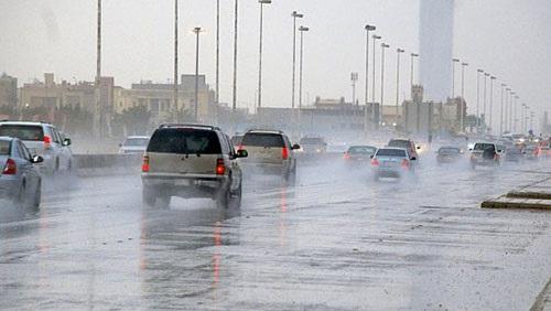 هطول الأمطار على السواحل الشمالية والدلتا وسيناء