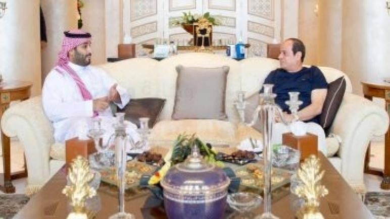 ننشر صورًا جديدة من لقاء الرئيس السيسى وولى عهد السعودية