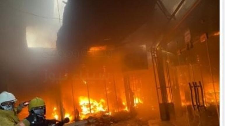 مصرع طفل واصابة آخر جراء اندلاع حريق داخل مخيم للنازحين فى السليمانية بالعراق