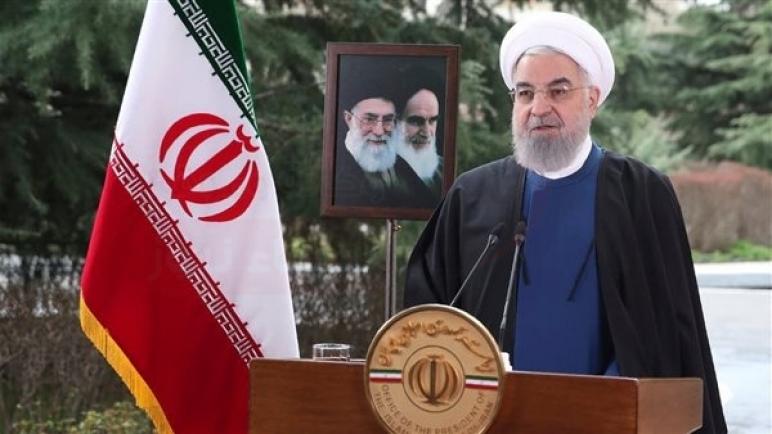 روحاني: حكومتي أوفت بمسئولياتها بشأن كورونا والعقوبات