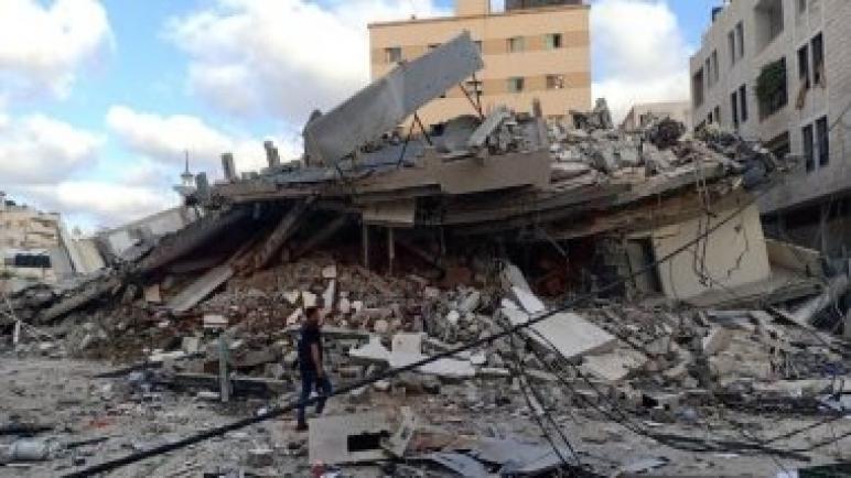 استشهاد طفل فلسطينى وإصابة آخر فى انفجار جسم من مخلفات العدوان الإسرائيلى على غزة