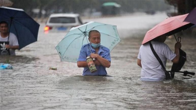 """السعودية تؤكد تضامنها مع الصين جراء الفيضانات بمقاطعة """"خنان"""""""