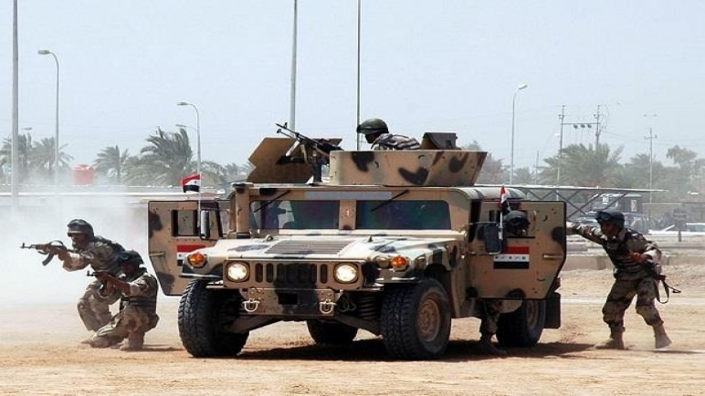 الجيش العراقي يبدأ عملية أمنية واسعة شمالي بغداد