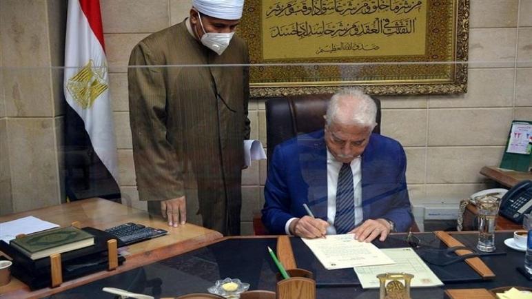 وزارة الأوقاف تدعم محافظة جنوب سيناء بـ 2000 متر سجاد