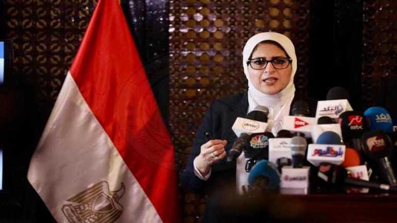 وزيرة الصحة: أحد المصابين بكورونا نقل المرض لـ54 مواطنًا في 6 محافظات