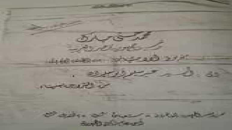 أسماء مجاهدي سيناء من قبيلة الترابين الذين يحملون أوسمه من الدرجة الأولى