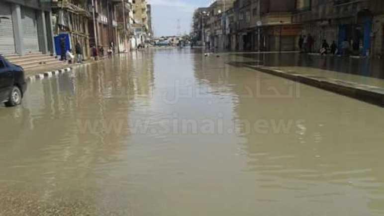رياح وانخفاض في درجات الحرارة وتوقعات بسقوط أمطار بشمال سيناء