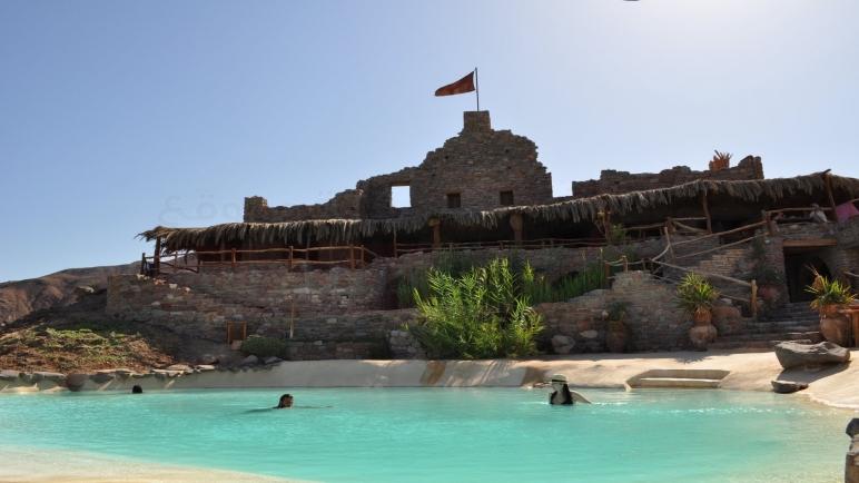 """"""" قلعة نويبع """" واحده من أقدم القلاع الحربيه الحصينه في مصر"""