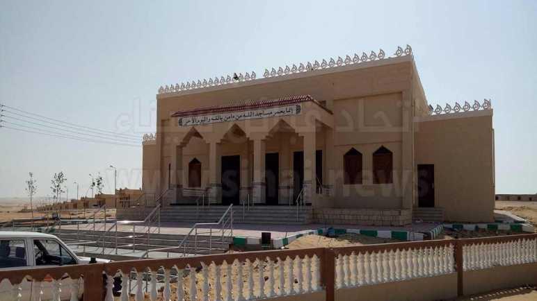 انتهاء تجهيز وحدات سكنية قرية الجدى بوسط سيناء