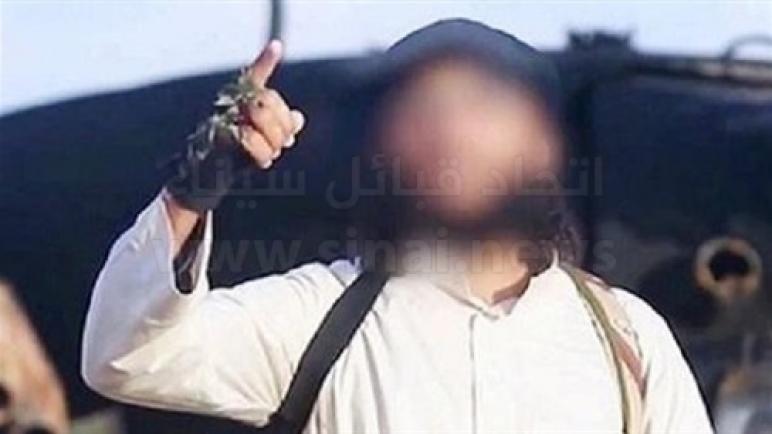 """مقتل """"أبوأسامة المصرى"""" أبرز قادة داعش فى سيناء"""