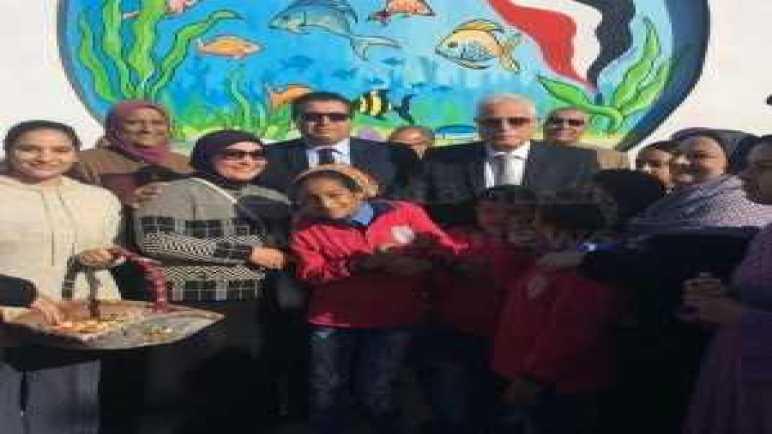 """فودة يفتتح الأعمال الفنية لمبادرة """"سيناء في قلب مصر"""""""