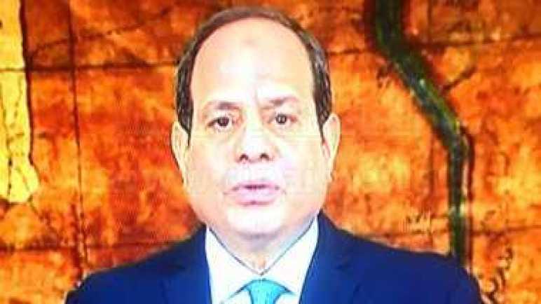 السيسي يوجه التحية لروح الزعيم أنور السادات: يظل خالدا فى وجدان العالم