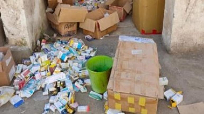 صحة شمال سيناء تضبط أدوية مهربة ومجهولة المصدر خلال حملة تفتيشية