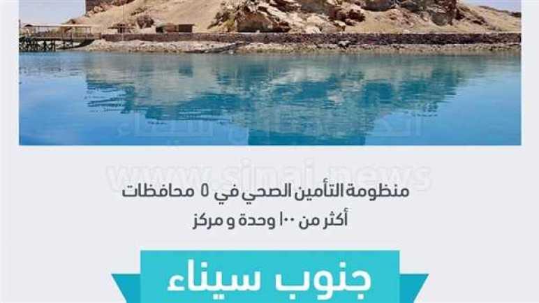 وحدات ومراكز التأمين الصحي الشامل في جنوب سيناء