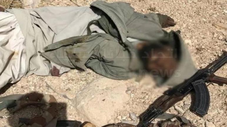 الجيش المصري يعلن مقتل أمير التنظيم الإرهابي بوسط سيناء