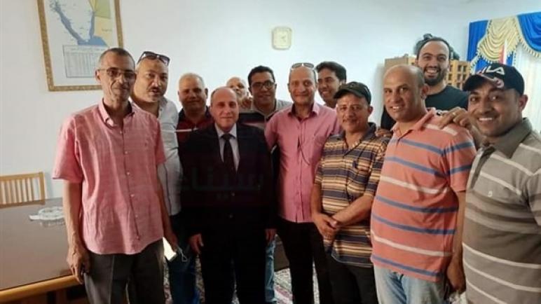 رئيس كهرباء القناة في زيارة مفاجئة لقطاع جنوب سيناء