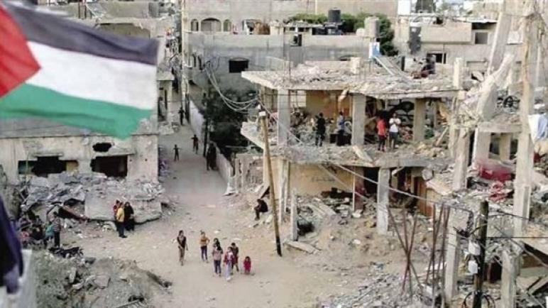 وفد فلسطيني يتوجه إلى القاهرة لبحث إعادة إعمار غزة