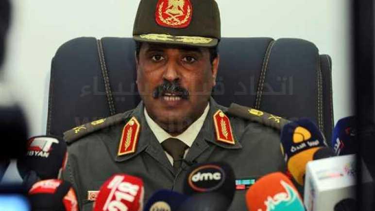 الجيش الليبي: إصابة عسكريين أتراك مسئولين عن تدريب الميليشيات بمصراتة